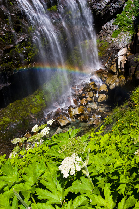 Rainbow In Narada Falls