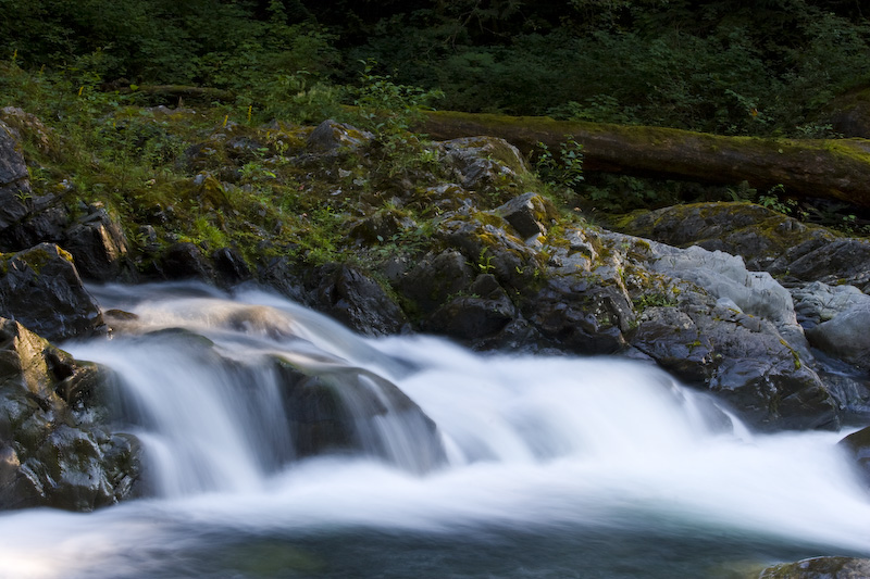 Small Cascade On The Snoqualmie River