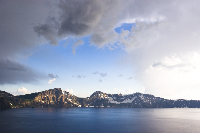 Clouds Above Crater Lake