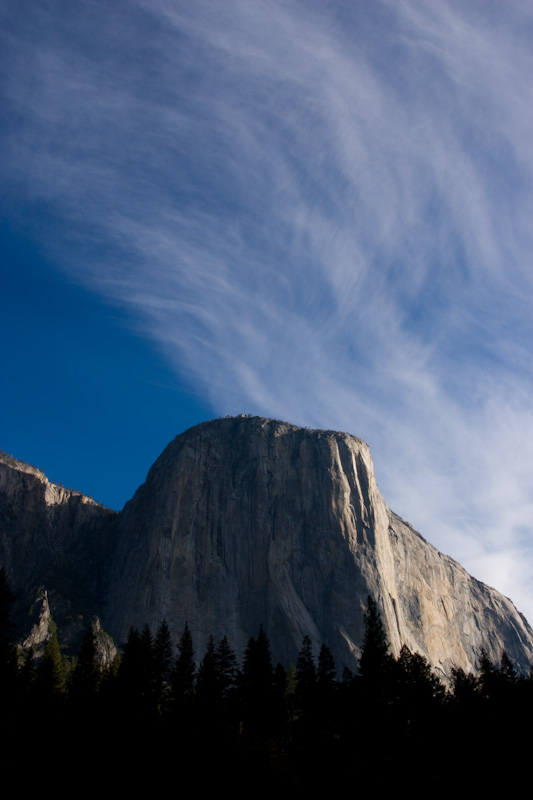 Clouds Above El Capitan