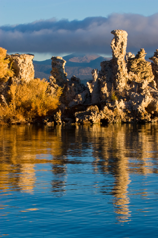 Reflection Of Tufa Towers