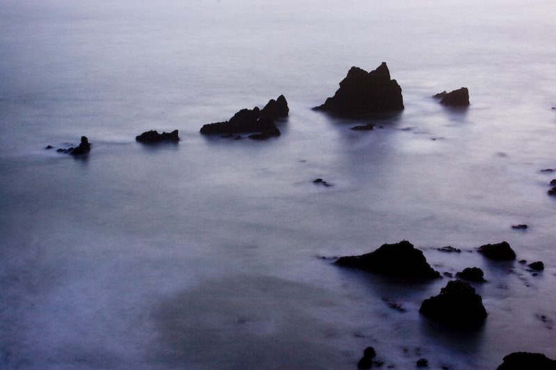Sealion Rocks After Sunset