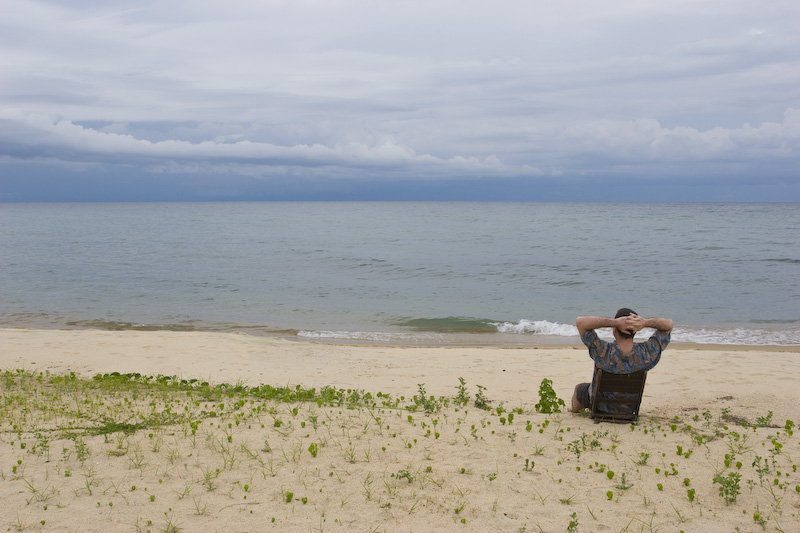 Me On The Shore Of Lake Tanganyika