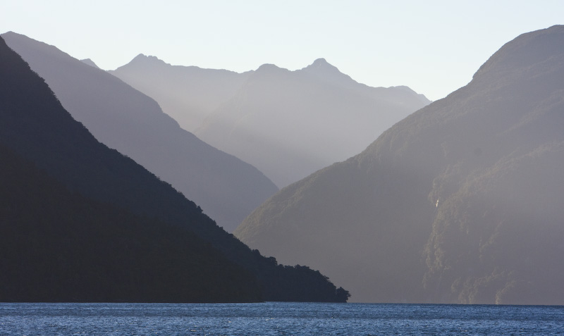 Mountains Above Doubtful Sound