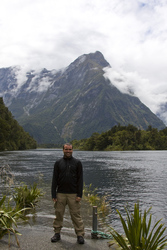 Me At The End Of The Milford Track