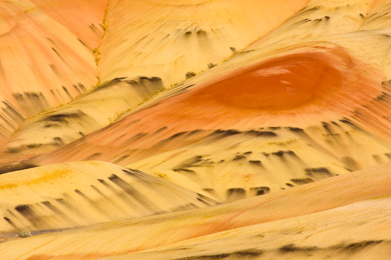Detail Of The Painted Hills