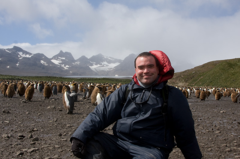Me And The Salisbury Plain King Penguin Colony On South Georgia Island