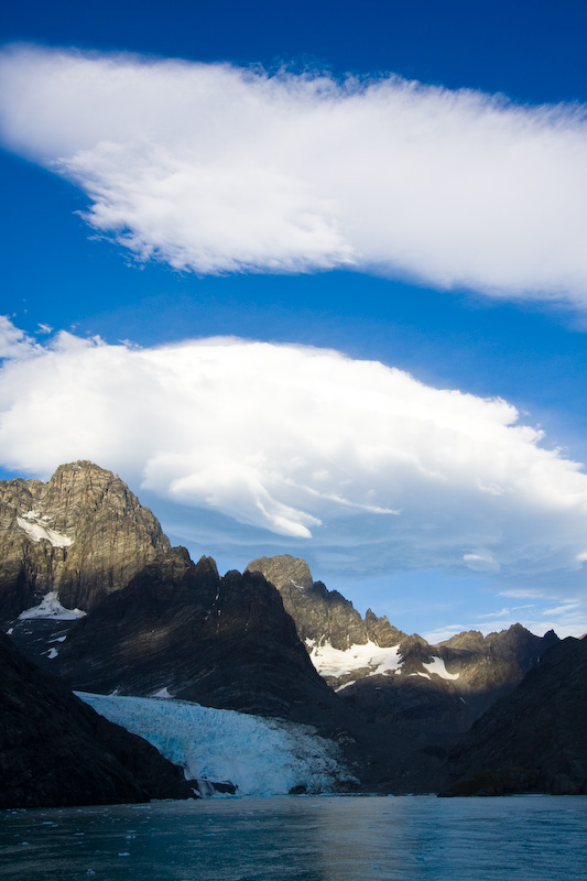 Clouds Above Drygalski Fjord