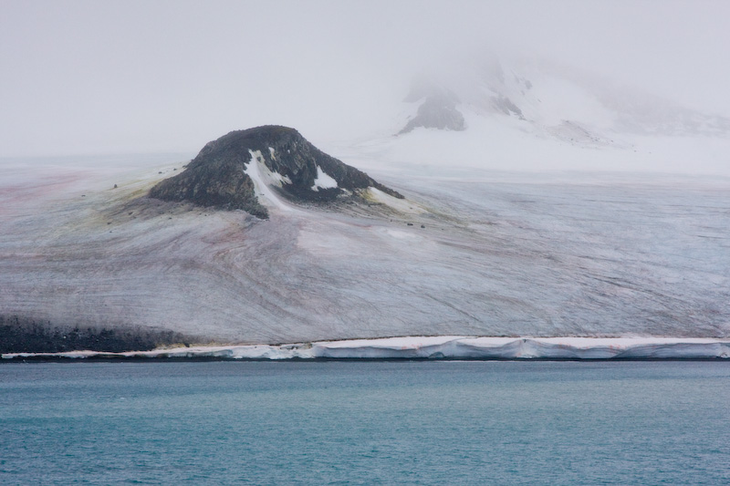 Glacier Along Shore Of Laurie Island