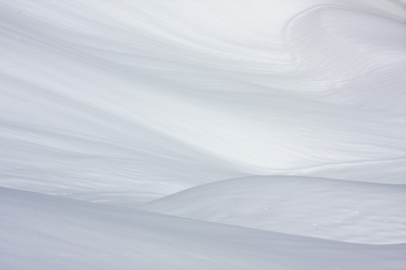 Patterns In Snow Slope