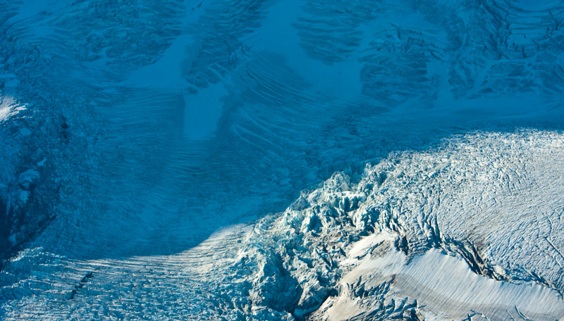 Glacier Detail On Mount Baker