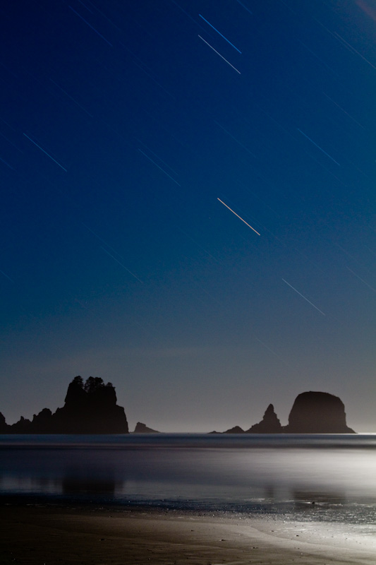 Stars Above Shi Shi Beach