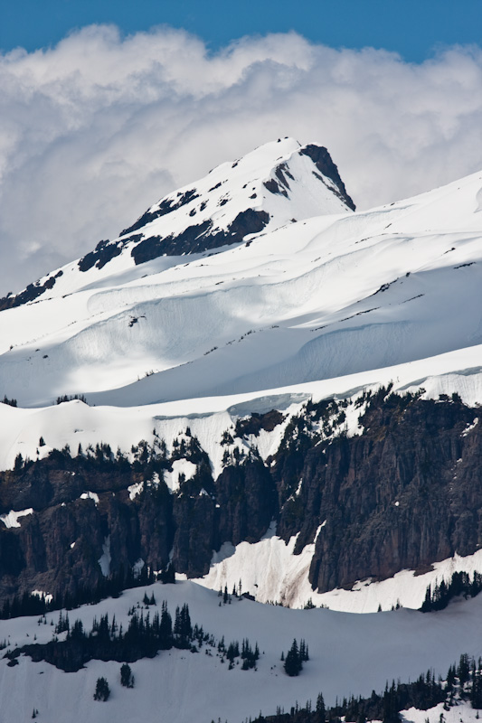 Copper Mountain Above Slopes Of Mount Rainier