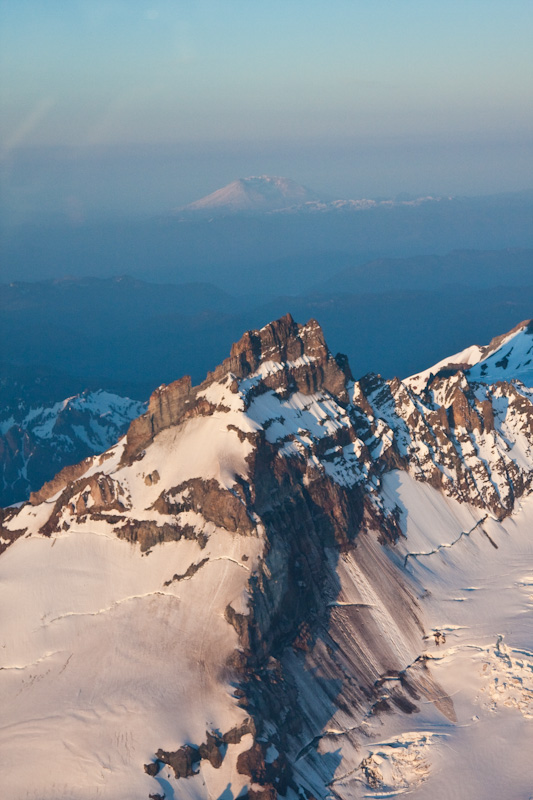 Little Tahoma And Mount Saint Helens