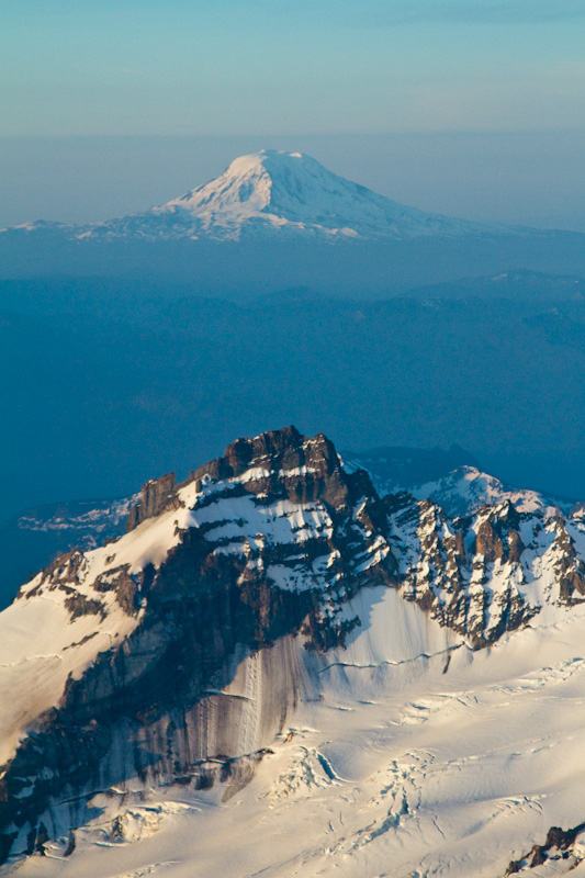 Little Tahoma And Mount Adams