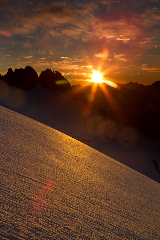 Sunrise In The North Cascades