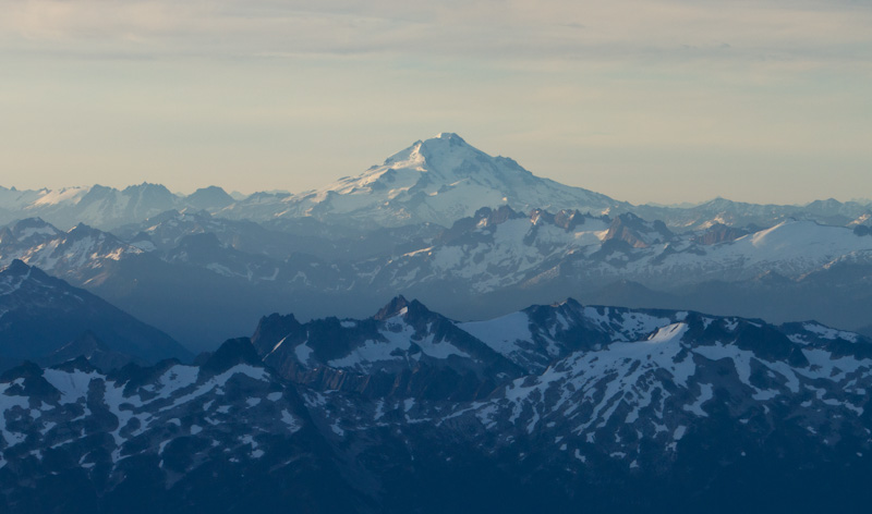 Mount Baker And The Cascades