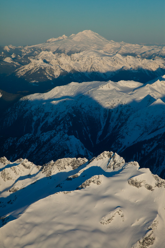 Mount Baker Above The North Cascades