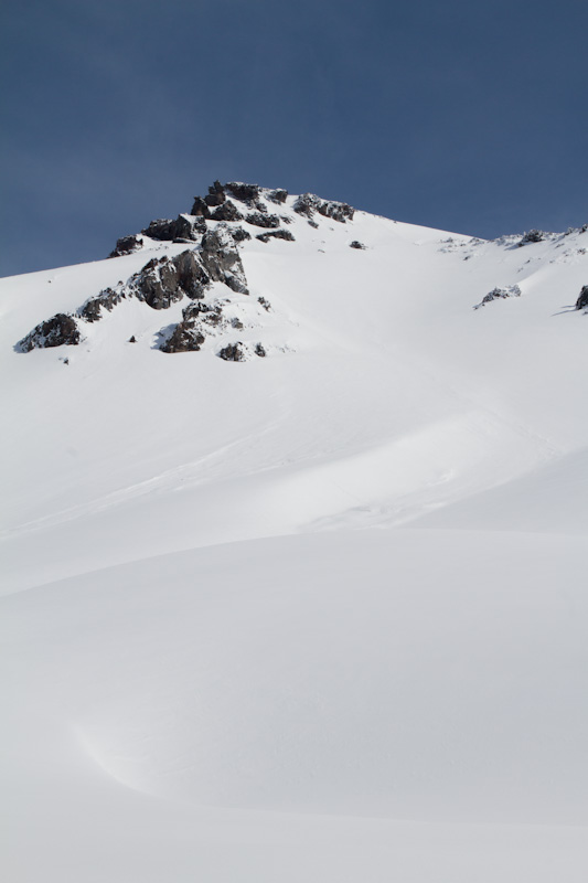 Slopes Above The Nisqually Glacier