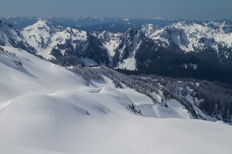 The Tatoosh Range Above The Nisqually Glacier
