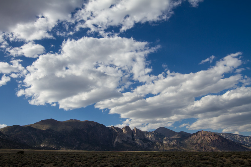 Clouds Above The Toiyabe Range