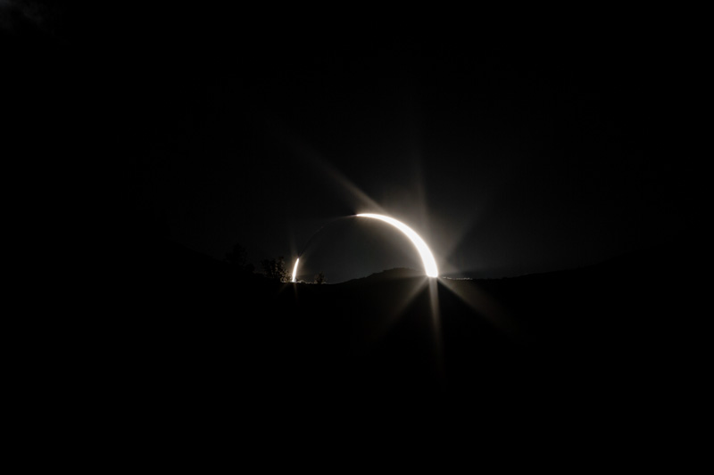 Annular Solar Eclipse At Sunset