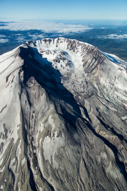 Crater Of Mount Saint Helens