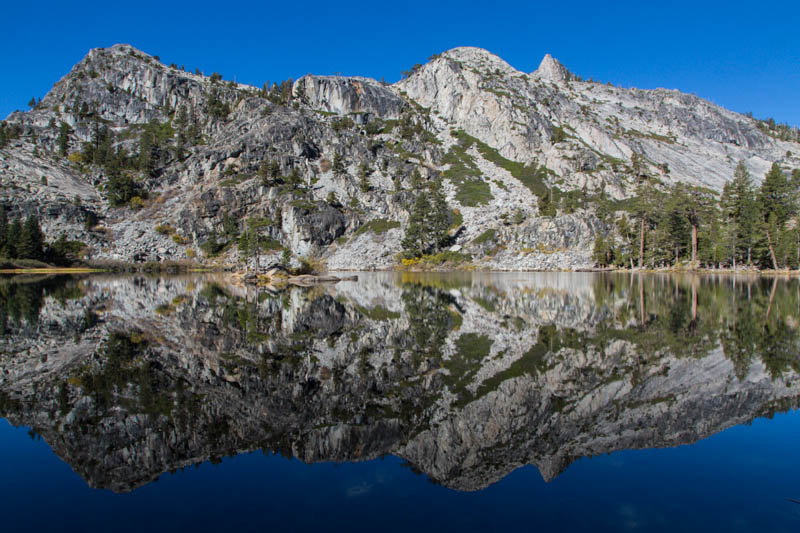 Peaks Reflected In Eagle Lake