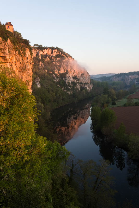 Lot River Gorge At Sunrise
