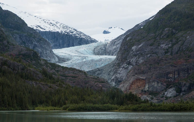 Eagle Glacier And Eagle Lake