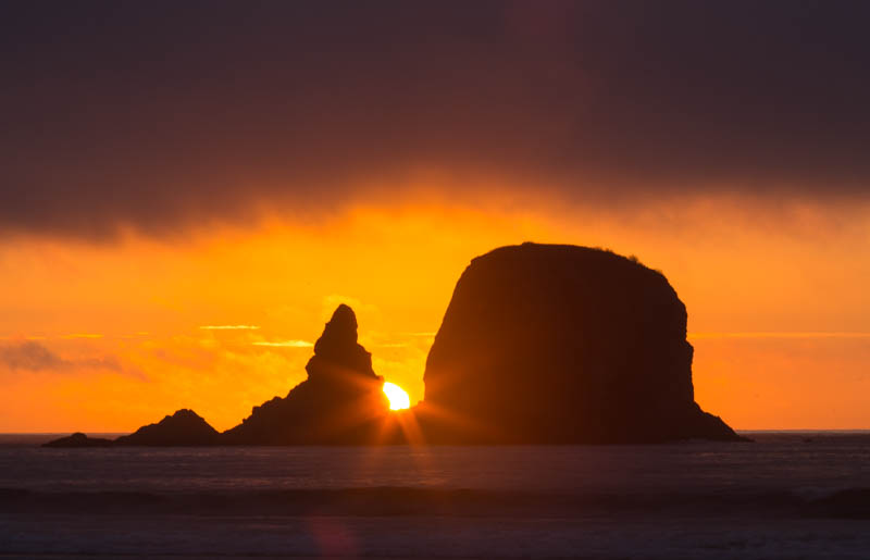 Point Of Arches At Sunset