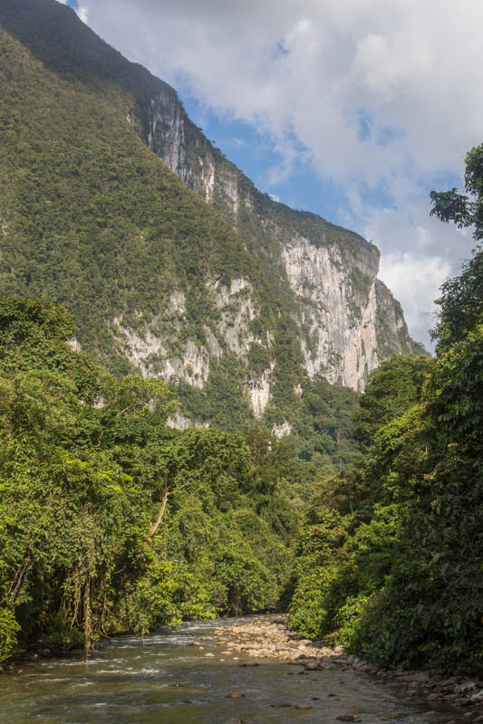 Cliffs Above The Melinau River