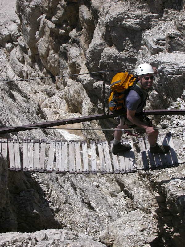 Me On Via Ferrata