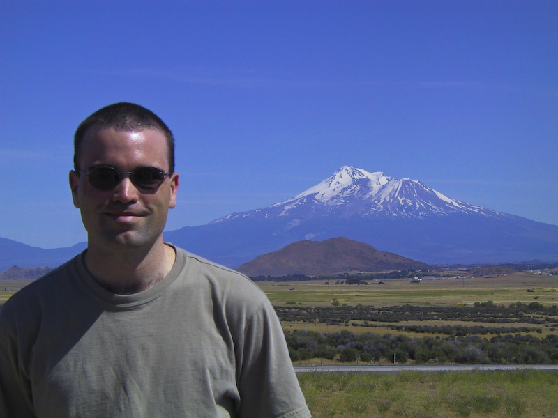 Me And Mount Shasta