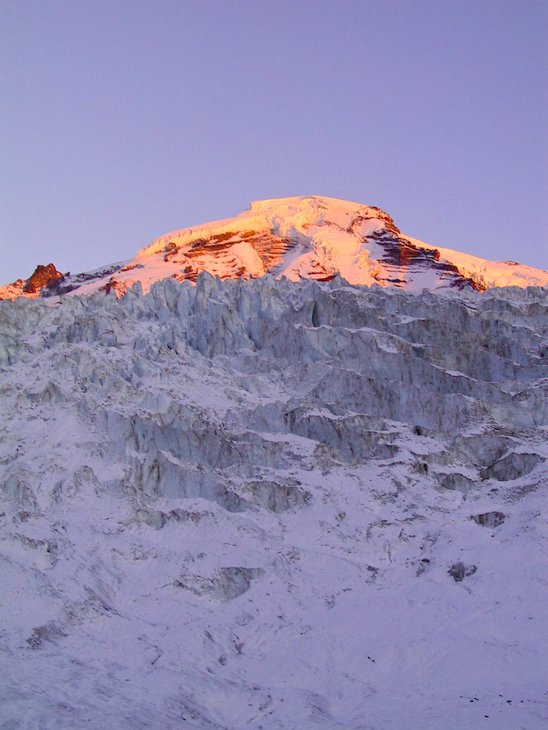 Mount Baker And The Coleman Glacier