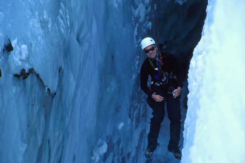 Me In A Crevasse