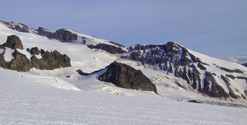 The Frying Pan Glacier