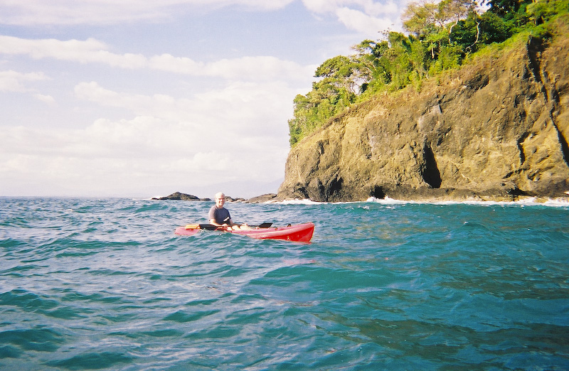 Me Sea Kayaking In Costa Rica